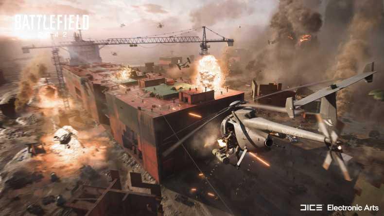 Battlefield 2042, un shooter multijugador futurista con