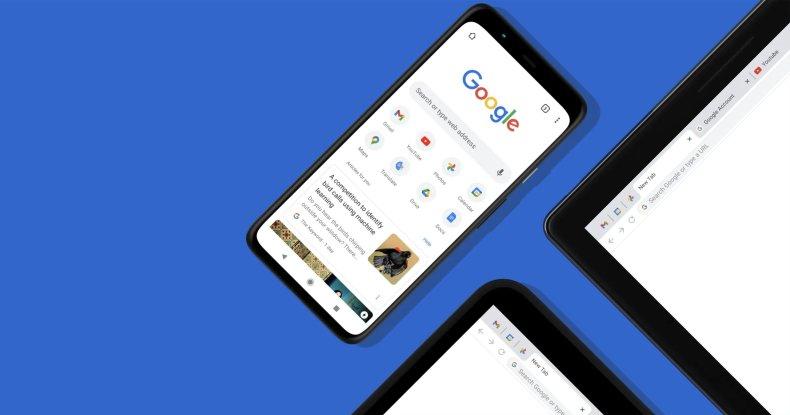 Google Chrome en varios dispositivos