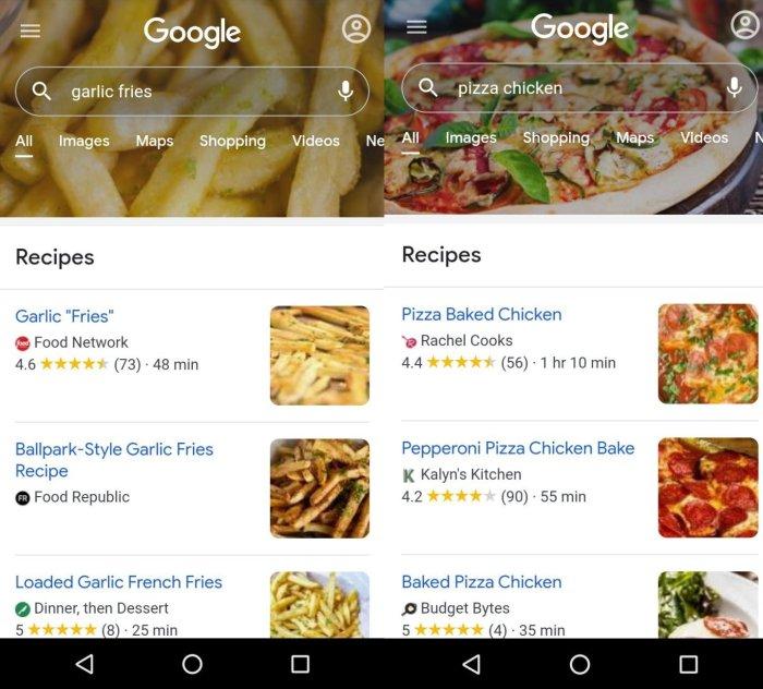 búsqueda personalizada de google