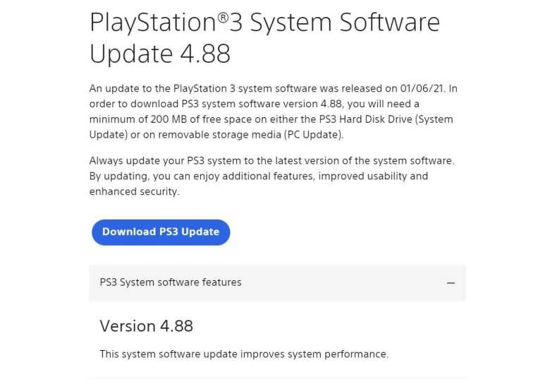 La PlayStation 3 de 14 años acaba de ser actualizada