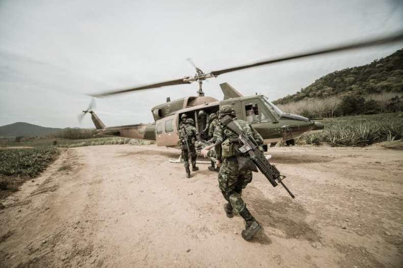 El ejército estadounidense estudia un nuevo perro de guerra para la acción