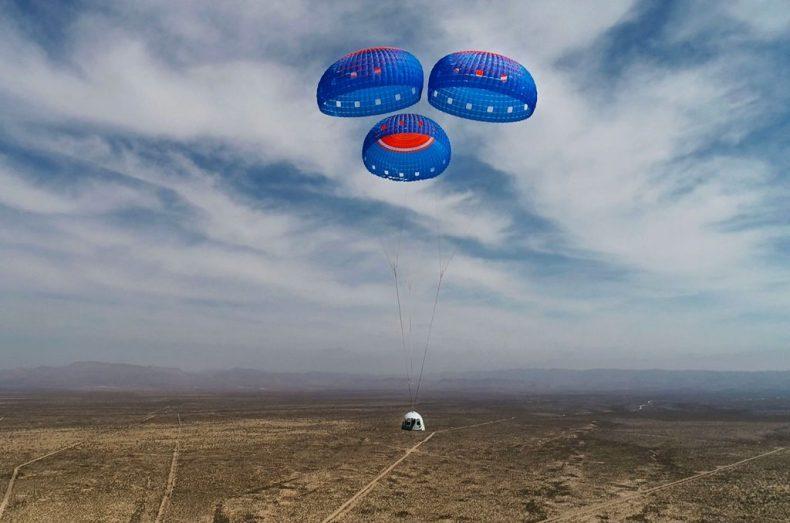 El primer asiento de vuelo espacial de Blue Origin es