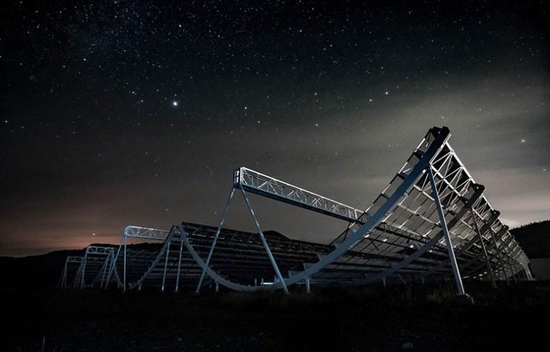 CHIME registró 535 ráfagas de radio rápidas en su primer año de funcionamiento.