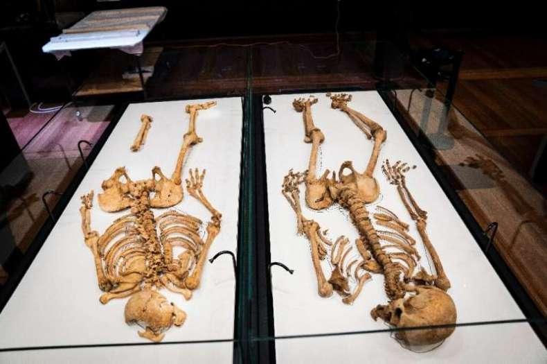 Mil años después, esqueletos de guerreros vikingos de