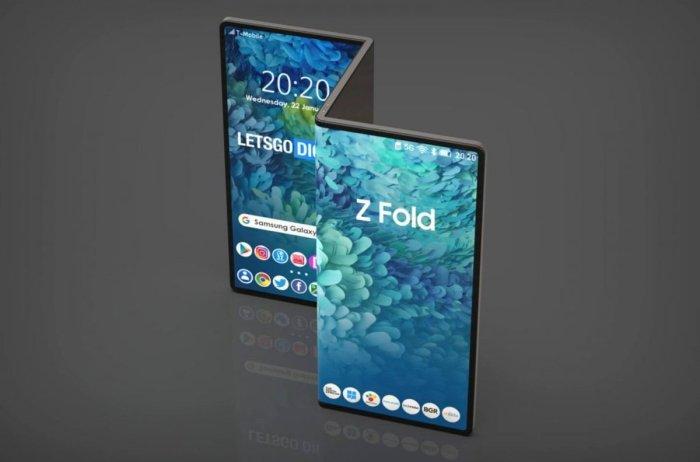 Samsung Galaxy Z Fold Tab, la tableta plegable de Samsung.