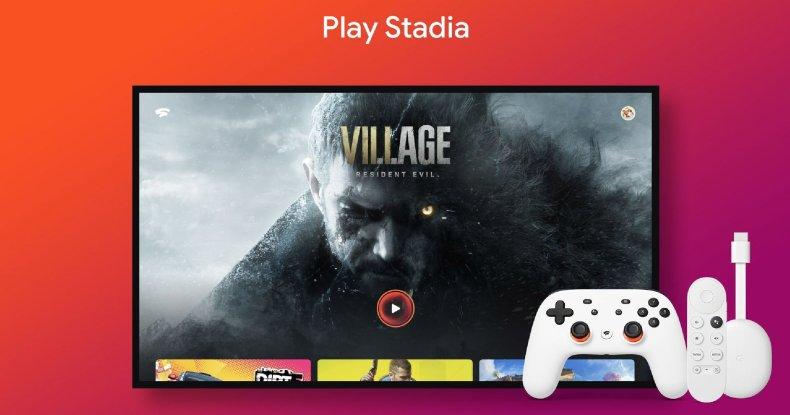 Stadia en Chromecast con Google TV