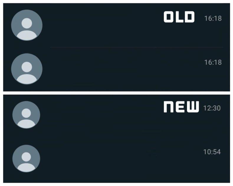 Cambio en WhatsApp