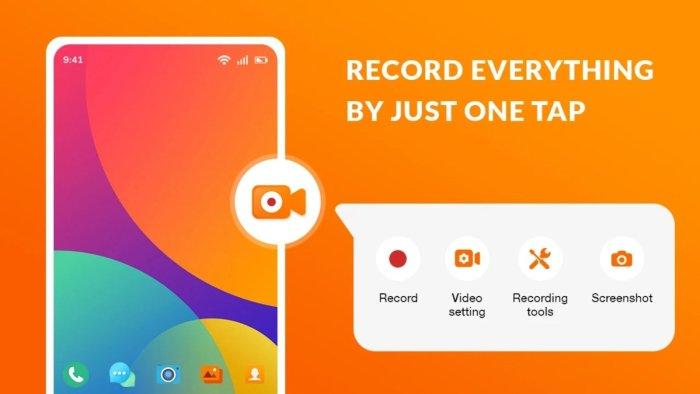 Aplicación Screen Recorder Pro