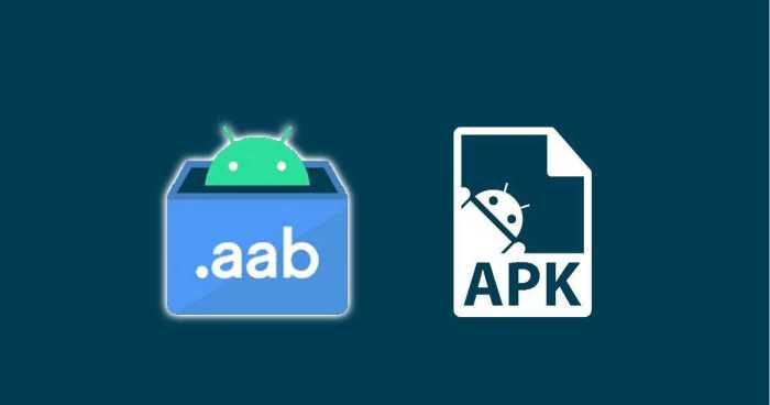 Formato APK AAB