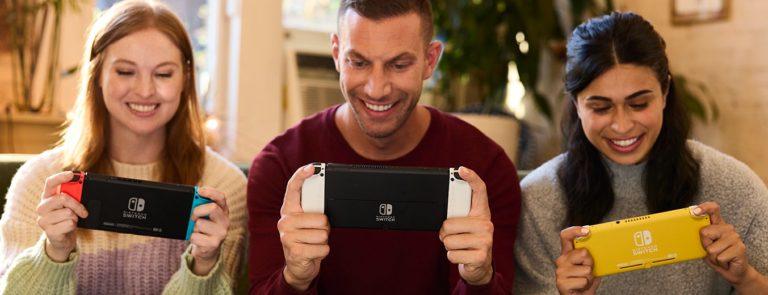 Nintendo Switch con actualizaciones OLED 5 para fanáticos