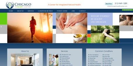Chiropractor web site
