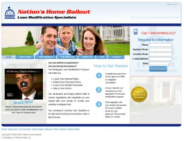 Financial web site
