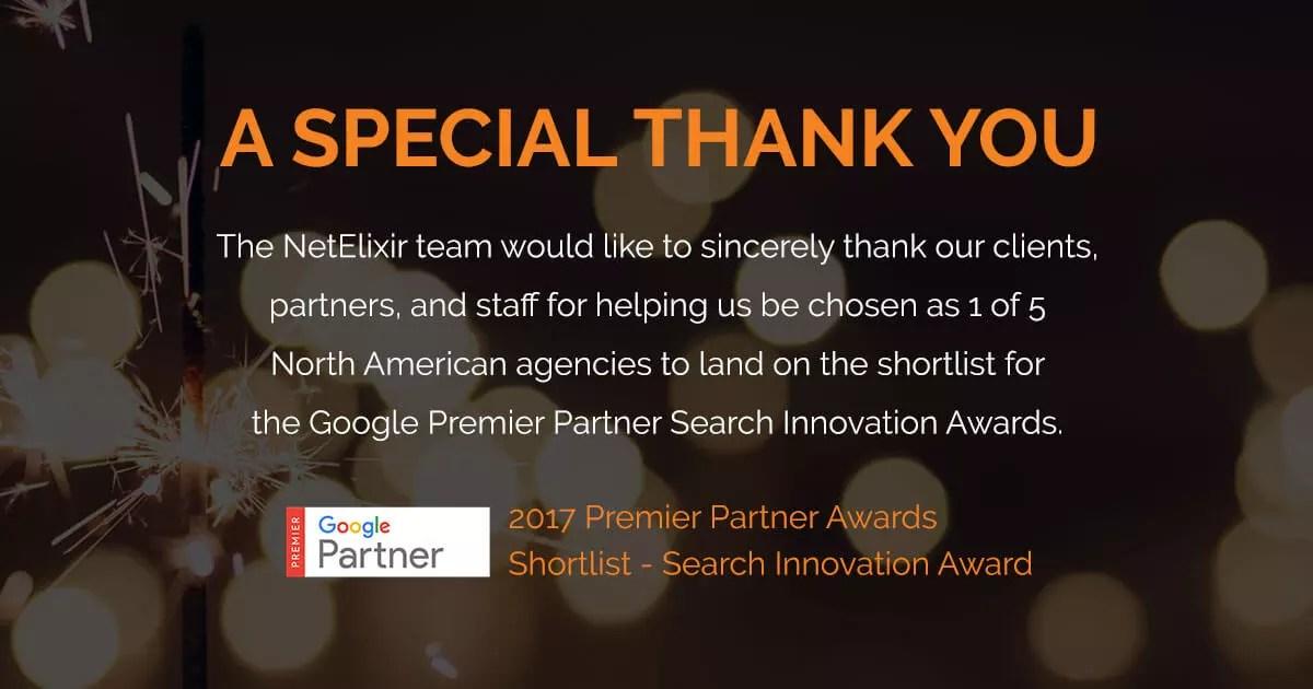 google awards netelixir