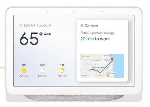Voice to Screen display