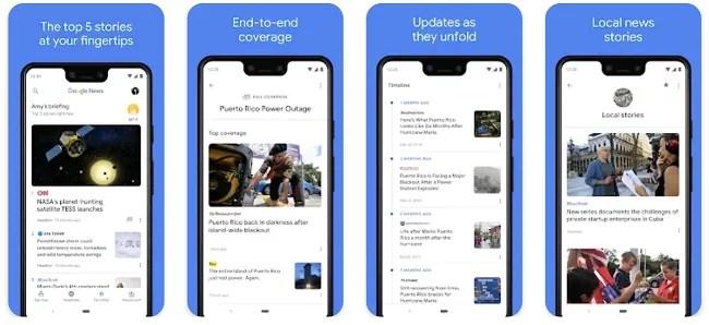 App Store Optimization screenshot example