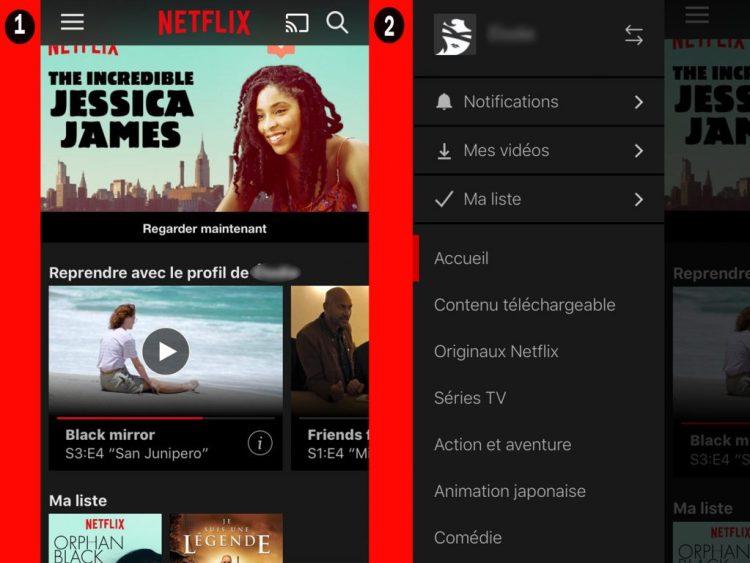 netflix regarder hors ligne 1 1024x768 Regarder vos vidéos Netflix en mode Hors ligne