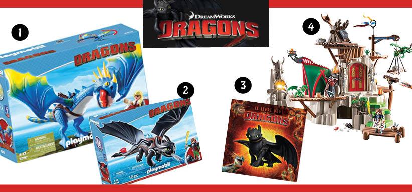 dragons selection noel netflix Pour le Noël de votre enfant, pensez à son héros Netflix préféré !