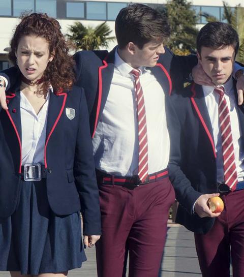 elite2 casa de papel Cet automne, retrouvez Rio, Denver et Allison (La Casa de Papel) dans une nouvelle série espagnole