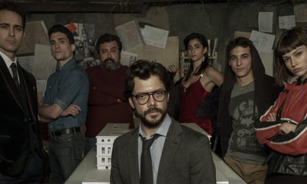 La Casa de Papel : Netflix tourne en Italie et dévoile des photos inédites de la saison 3 !