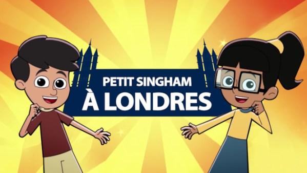Petit Singham à Londres