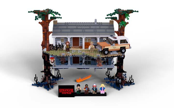 LEGO Stranger Things maison byers Lego étend son univers à celui de Stranger Things dans une collab renversante ! (Netflix)