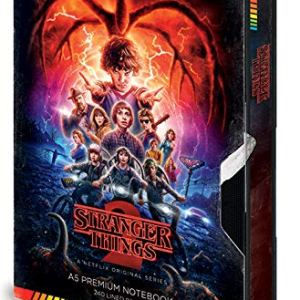 Carnet-de-notes-A5-Premium-Stranger-Things-S2-VHS-0