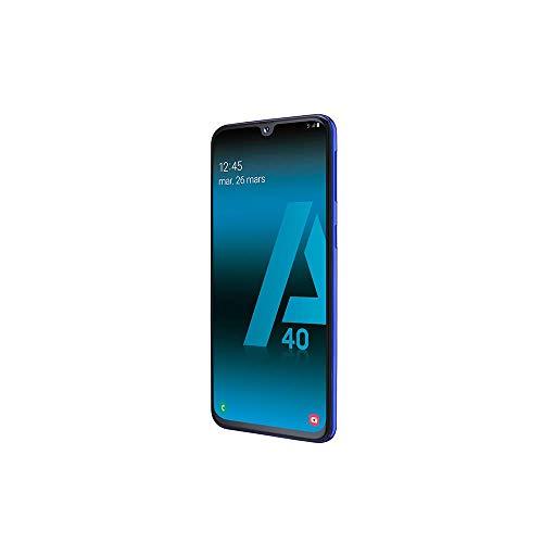 SAMSUNG-GALAXY-A40-Smartphone-portable-dbloqu-4G-Ecran-5-9-pouces-64-Go-Double-Nano-SIM-Android-Bleu-Version-Franaise-0-0
