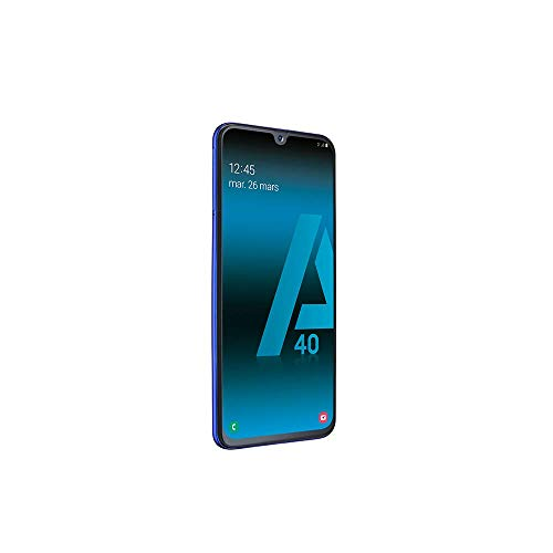 SAMSUNG-GALAXY-A40-Smartphone-portable-dbloqu-4G-Ecran-5-9-pouces-64-Go-Double-Nano-SIM-Android-Bleu-Version-Franaise-0-4