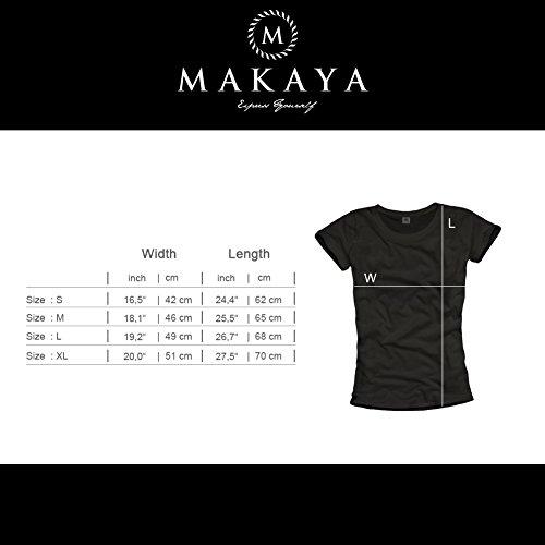 Makaya-Stranger-Things-T-Shirt-Femme-Hawkins-Middle-School-Baseball-Football-Top-0-0