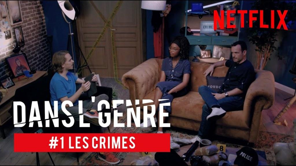 DANS L'GENRE – EDITION CRIMES AVEC SYLVQIN, LIV & FABIEN OLICARD ! 🔪