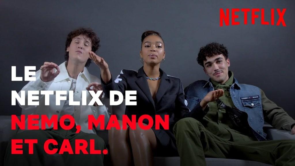 LE NETFLIX DE… Nemo Schiffman, Manon Bresch et Carl Malapa I Mortel I Netflix France