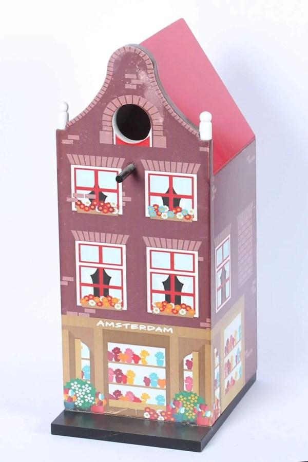 "Birdhouse, Canal House ""Klokgevel"" - Woodenshoefactory Marken"