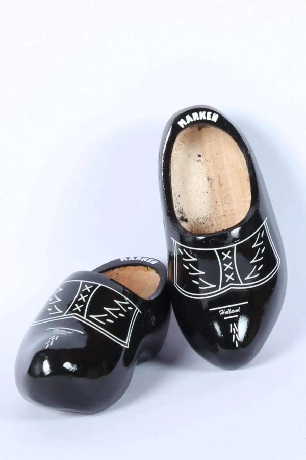 Wooden Shoes Black
