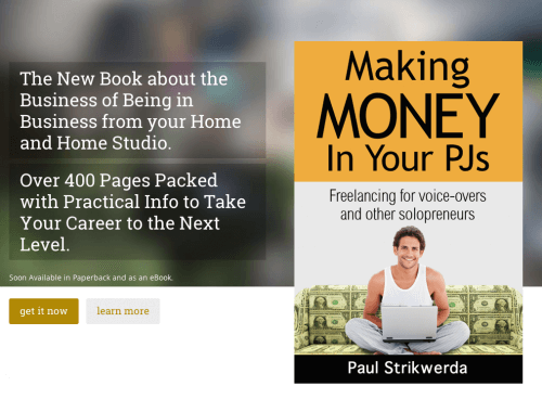 Making Money In Your PJs by Paul Strikwerda website