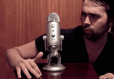 Rocking the mic?