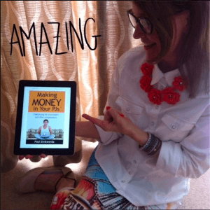 Debby Barnes with Making Money In Your PJs