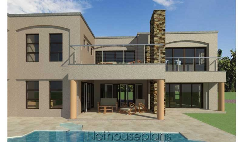 Modern 4 Bedroom House Plan PDF Download For Sale ...
