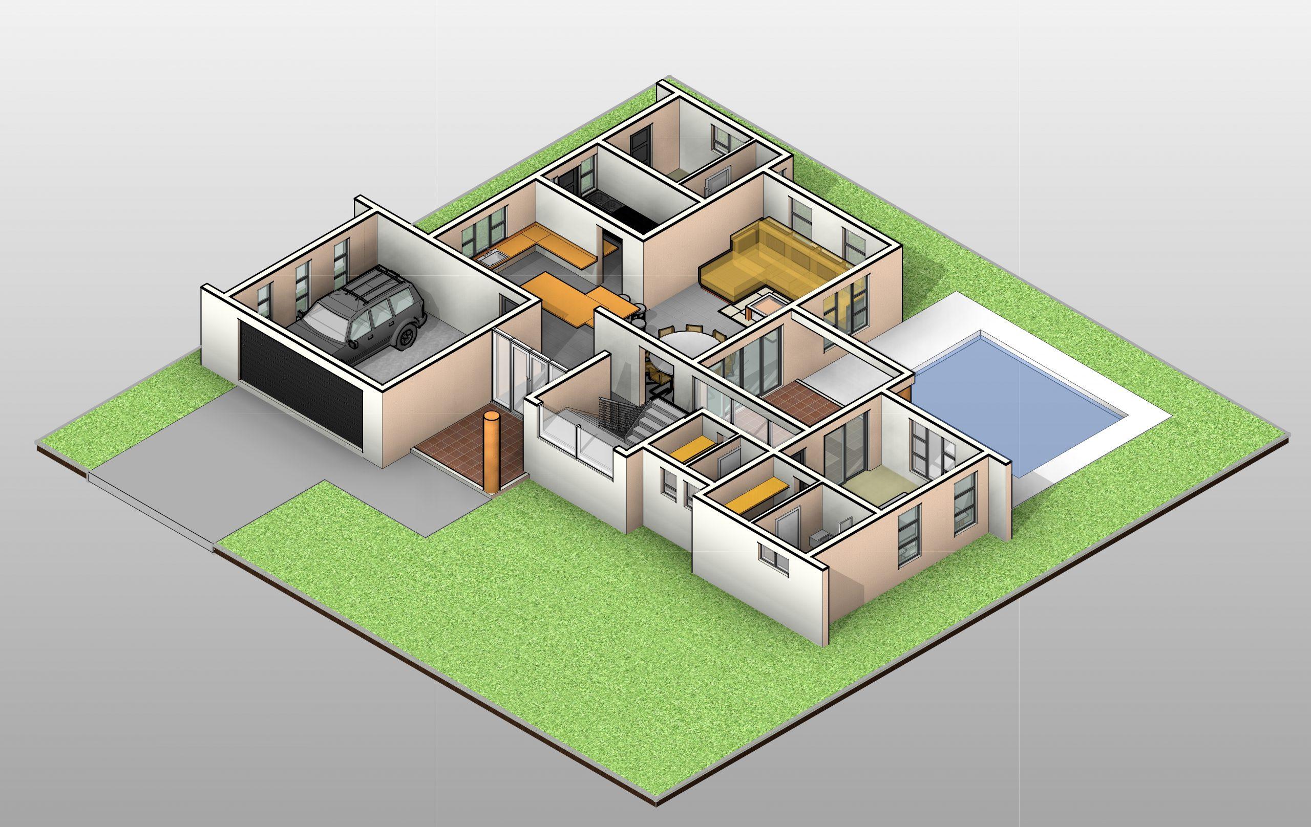 4 Bedroom House Plan_TR407D - Double Storey House Design ...