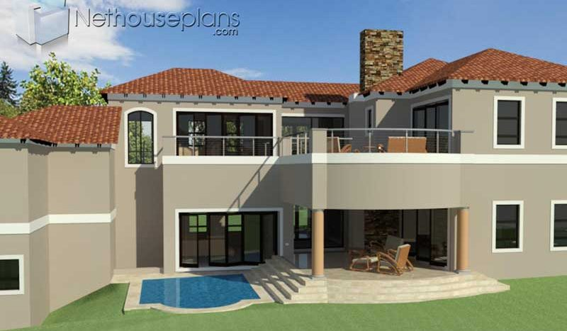 Spacious 4 bedroom Tuscan Home Design | House Plans ...