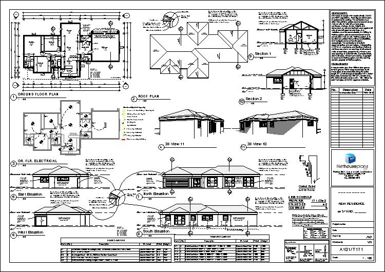 3 bedroom house plans in South Africa, blueprints, floorplanner, house plan drawings, architects drawings, house plans with photos, House Plans, House Designs, Home Designs, Floor Plan Designs, Nethouseplans