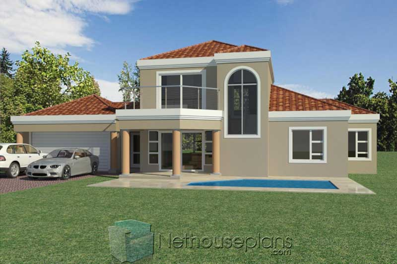 Modern-3-Bedroom-Double-Storey-House-Plans-South-Africa ...