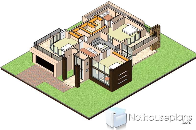 4 Bedroom House Plans 434sqm Modern Home Designs Nethouseplansnethouseplans