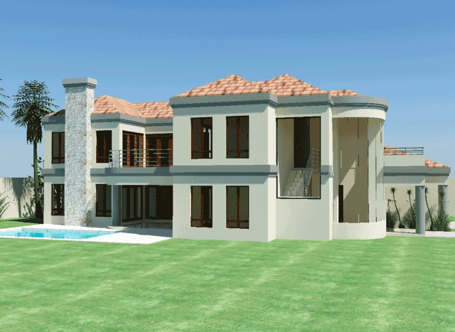 Double story house plans South Africa modern double story house plan designs modern 4 bedroom house plans Nethouseplans