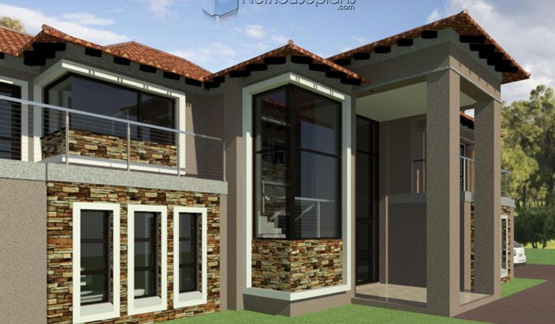 4 Bedroom House Plans South African | PDF House Plan ...