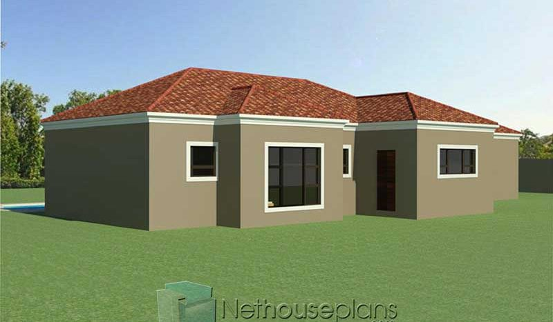 3 bedroom house plans for sale online South African house designs Nethouseplans
