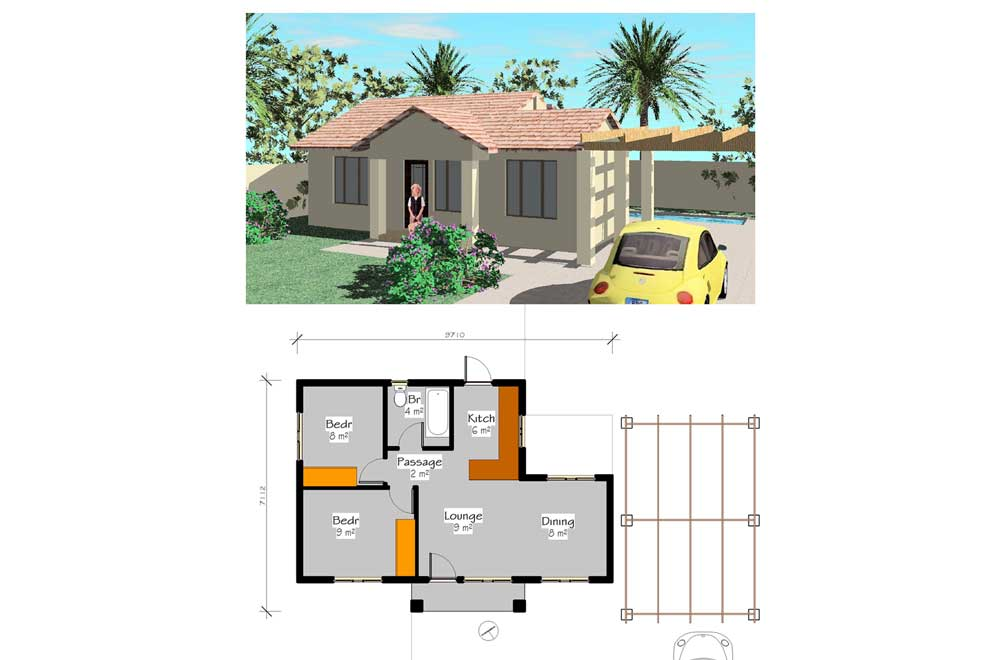 Simple House Plans PDF Free House Plans Small House ...