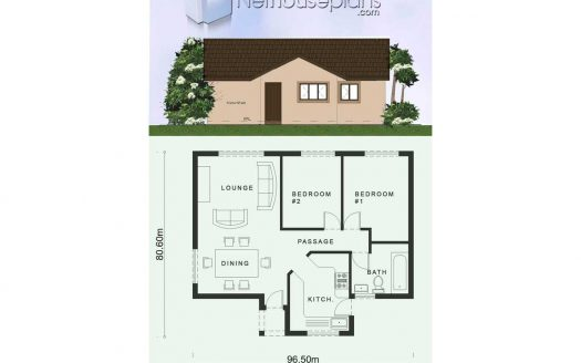 Tiny House plans, Tiny house floor plans, 2 bedroom tiny house plans, Tiny House plan design with photos, Nethouseplans