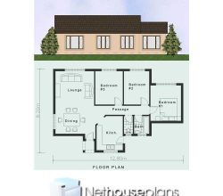 Simple House Plans  Clutter-Free 3 Bedroom House Plans   NethouseplansNethouseplans