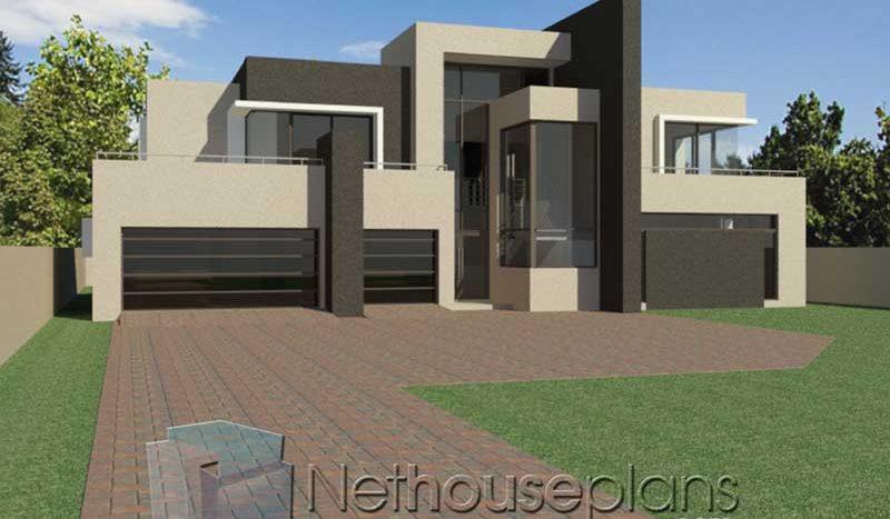 House Designs 4 Bedroom Modern House Design Nethouseplansnethouseplans,2 Chandelier Over Dining Table