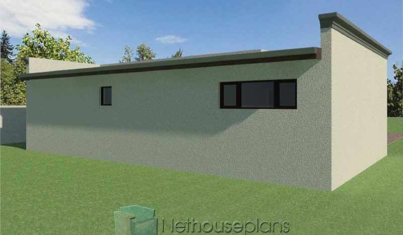 2 Room House Plans South Africa | Flat Roof Design ...